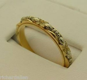 Antique Art Carved Wedding Band Pricescope Forum
