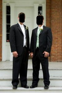 groom and best man on steps.JPG