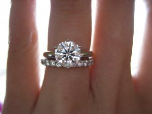 Show Me 35 45 Size Finger With Diamond Ring Pricescope Forum