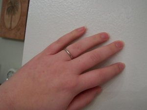 2mm Wedding Band With 3mm E Ring Pricescope Forum