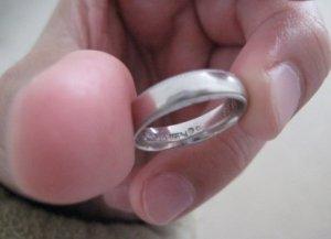 Jeff Wedding Band with embedded 0.1ct diamond.JPG