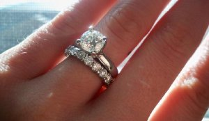 Solitaire with diamond band page pricescope forum