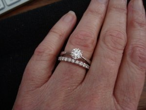 recipe: .25 carat diamond ring on finger [33]