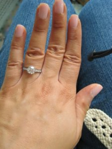 size ideas i pinterest pertaining to engagement diamond on sizes ring wedding rings best
