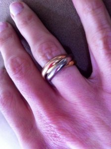 92d1846e60 show me your Cartier rolling rings!   PriceScope Forum
