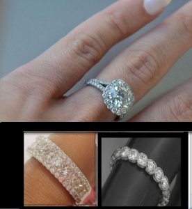Hi!    I really hope that you can help me.  I have been on what seems to be a never-ending search for a wedding band that will look good with my...