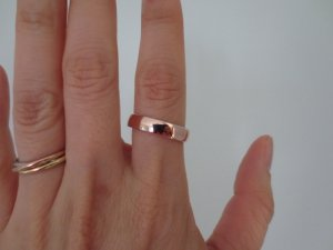 E Wedding Bands.Please Show Me Your Rose Gold Wedding Bands Pricescope Forum