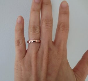 Please show me your ROSE GOLD wedding bands PriceScope Forum