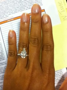 Solitaire Diamond On 5 5 Ring Size Pricescope Forum