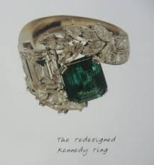 Jackie Kennedy S Enement Ring As A