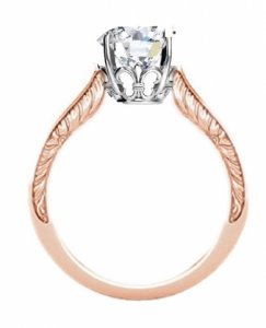 Jewelry Adviser Rings 14KY 2mm LTW Comfort Fit Band Size 8