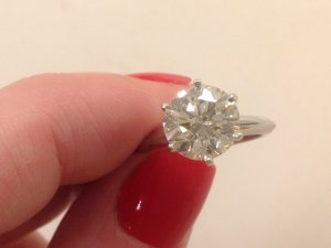 967f421ba Selling a 2.17 Carat Tiffany Solitaire...thoughts on price ...