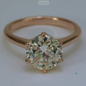 efb86ad82 Victor Canera Gabriela - Rose Gold w/1.8ct IF M-Color RB ...