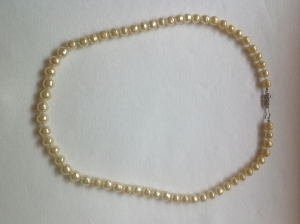 Can someone tell me if these pearls are real or fake