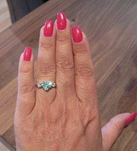Paraiba Tourmaline Heart Ring on hand.jpg