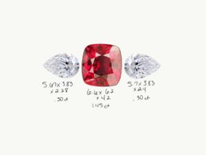 a4f43c903d571 Spinel & Diamond Sidestones - Proportions ok? | PriceScope Forum