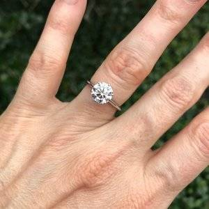 Which Solitaire Setting For My Upgrade 2 06ct Diamond Pricescope
