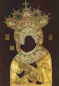 Oklad of Icon of Our Lady of Vladimir.jpg