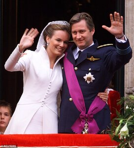 Queen Mathilde and King Philippe of Belgium on their 20th wedding anniversary.jpg