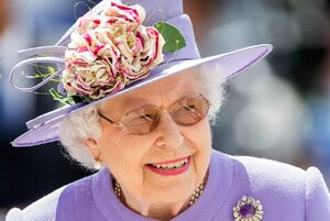 Queen Elizabeth attends Epsom Derby Day.jpg