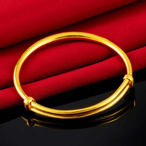 Vietnam-Sand-Gold-Bangle-for-Child-simple-No-Fade-Gold-Bracelets-Adjustable-designs-Baby-Gift....jpg