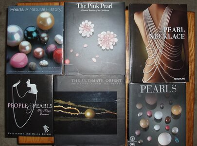 Some of my pearl books.jpeg