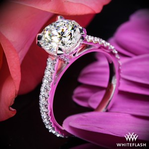 Elena Diamond Engagement Ring set with a 1.533ct A CUT ABOVE