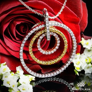 Colors of Life Diamond Pendant