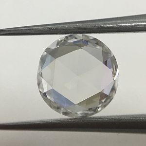 1.08CT ROSE CUT ROUND E VVS2 GIA#1243861780