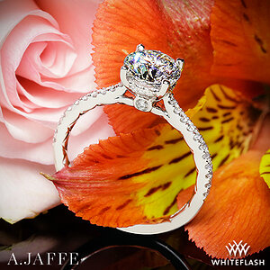 A.Jaffe Classics Diamond Engagement Ring