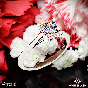 Vatche Lyric Solitaire Engagement Ring