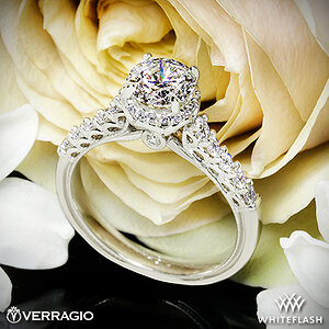 Verragio Renaissance Diamond Engagement Ring