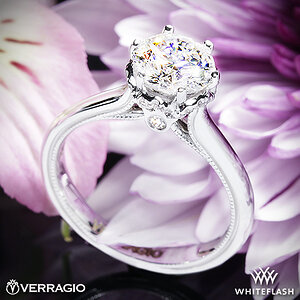 Verragio Classic Solitaire Engagement Ring