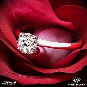 Vatche Charis Solitaire Engagement Ring