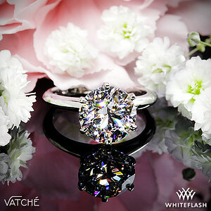 Vatche 6-Prong Solitaire Engagement Ring