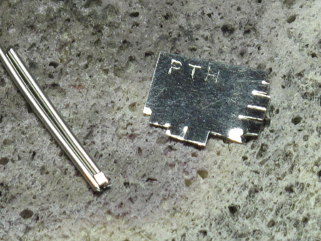 platinum solder and wires