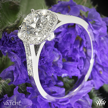 Vatche Grace halo diamond ring