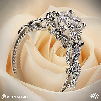 Verragio braided 3-stone ring