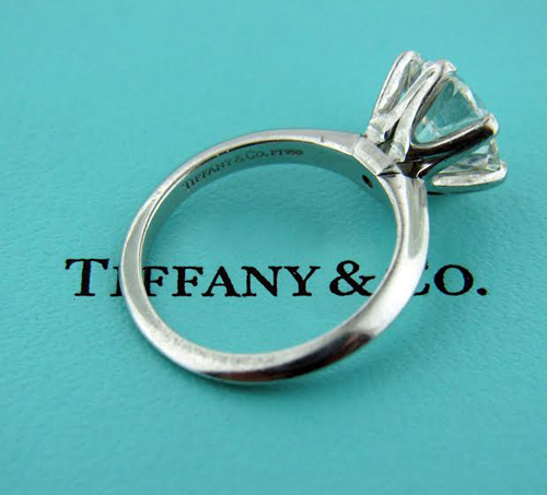 Tiffany Solitaire Diamond Ring