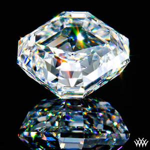 Glamour Shot of a 2.02ct Asscher Cut Diamond