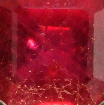 Lead Glass Ruby