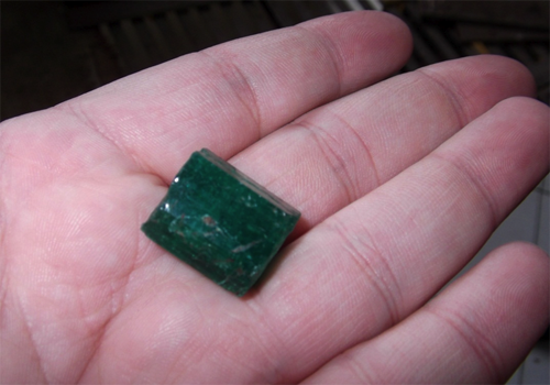 Emerald Crystal from Afghanistan