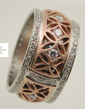 Custom Diamond Ring Inspirations Picture