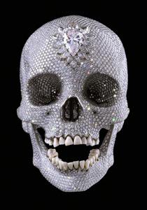 Damien Hirst Diamond Skull