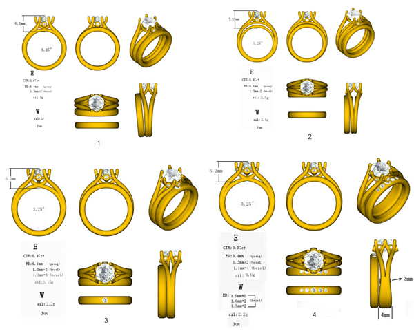 Custom Jewelry Design Process with CAD PriceScope