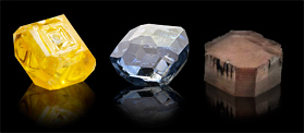 Rough Synthetic Diamonds
