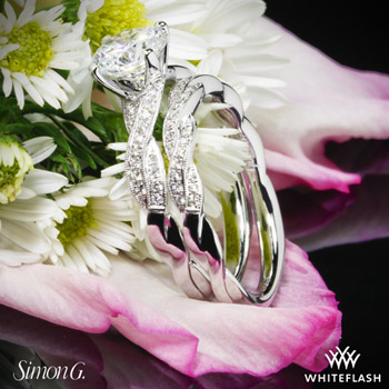 Simon G. Diamond Wedding Set