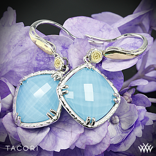 Tacori SE118Y05 Barbados Blue Clear Quartz