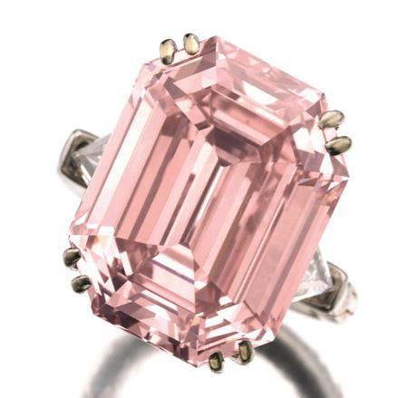 10.99 carat pink diamond Sotheby's Geneva