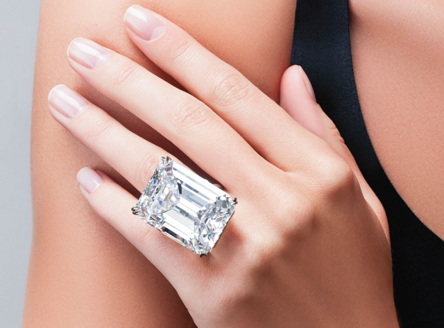 100-Carat Emerald Cut Diamond • Sotheby's New York